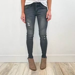 Denim - KanCan Moto Jeggins!